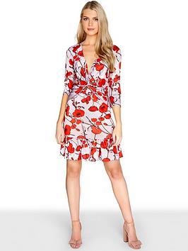 girls-on-film-poppynbspprintnbspa-line-dress-with-frilly-hem