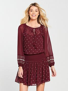 v-by-very-embroidered-smocked-dress-merlot