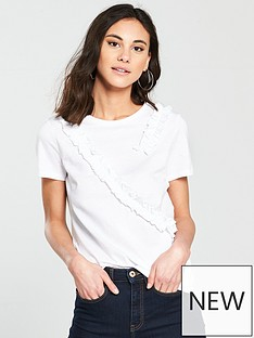 v-by-very-frill-trim-t-shirt-white