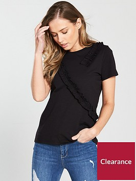 v-by-very-frill-trim-tshirt