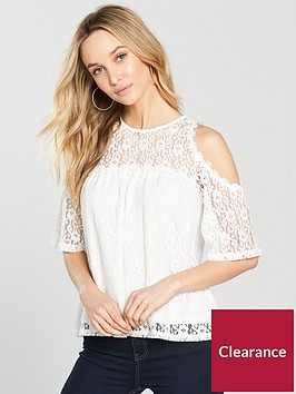 v-by-very-lace-cold-shoulder-top-white
