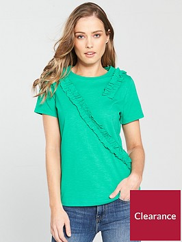 v-by-very-frill-trim-t-shirt-jade-green
