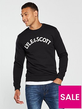 lyle-scott-lyle-amp-scott-logo-sweatshirt