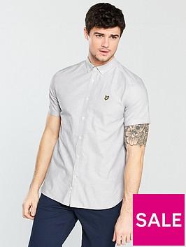 lyle-scott-lyle-amp-scott-short-sleeve-oxford-shirt