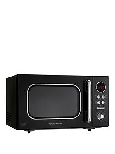 morphy-richards-23-litre-800-watt-microwave-black
