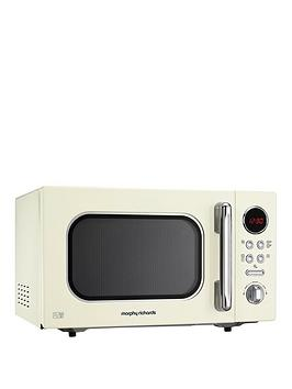 morphy-richards-accents-800w-23l-microwave-cream