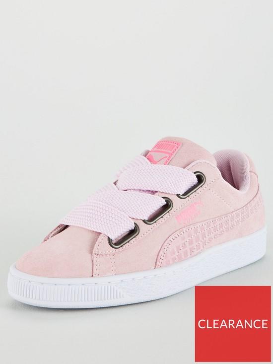 Puma Suede Heart Uprising - Pink  f7347bd7a