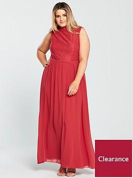 little-mistress-curve-sleeveless-lace-top-maxi-dress-cayenne