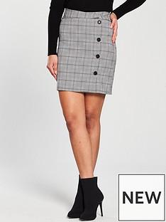v-by-very-check-skirt