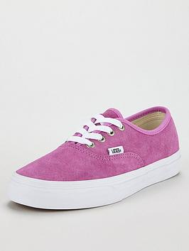 Vans Authentic Suede - Pink
