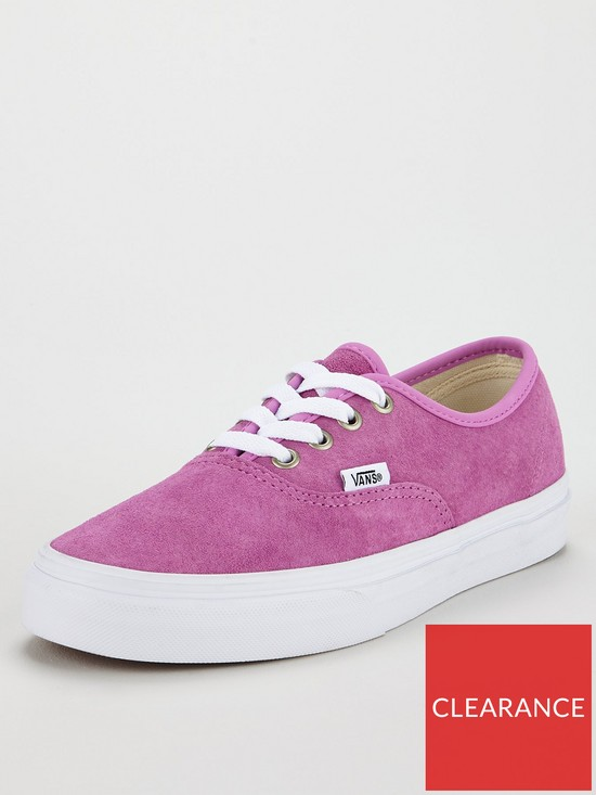 76bc3a4105 Vans Authentic Suede - Pink