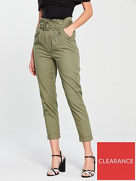 v-by-very-belted-chino-khaki