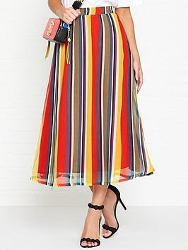 gestuz-una-rainbow-skirt-multicolour