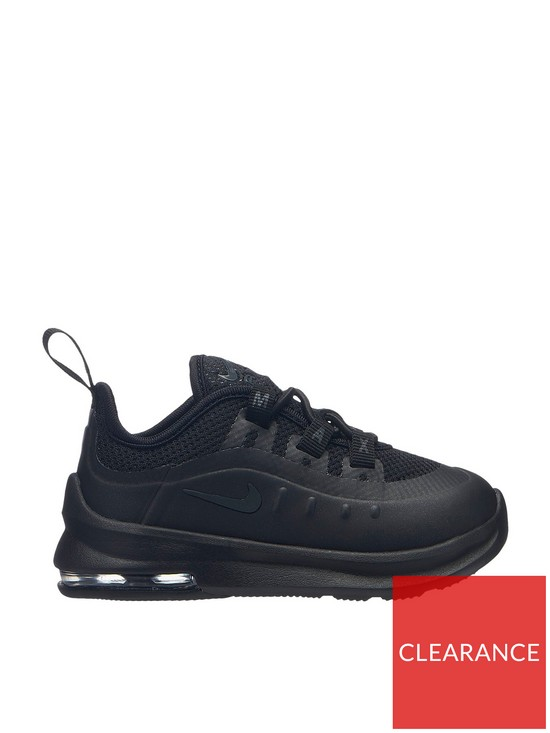a29ab176b9 Nike Air Max Axis Infant Trainers - Black   very.co.uk