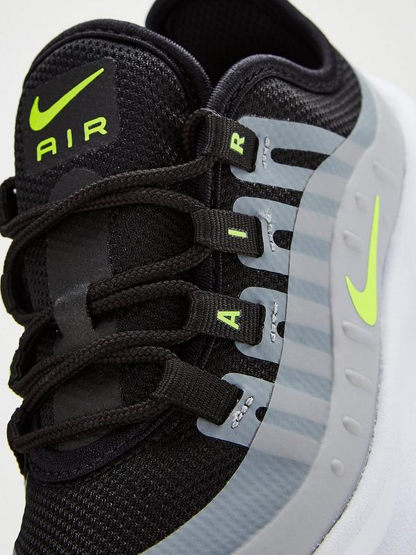 c319c9a1e0621 Nike Air Max Axis Childrens Trainer - Grey/Black/Volt | very.co.uk