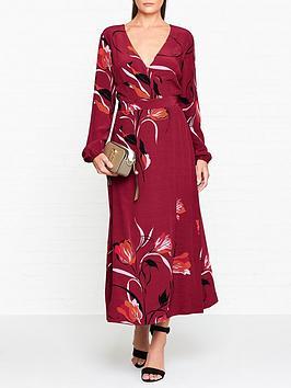 gestuz-sillenbspfloral-print-wrap-dress-burgundy