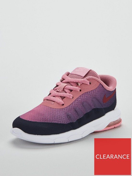 72c968c222 Nike Air Max Invigor Print Infant Trainers - Grey/Pink | very.co.uk