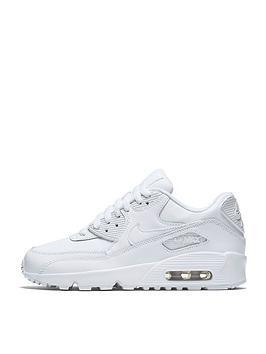 nike-junior-air-max-90-leather-whitenbsp