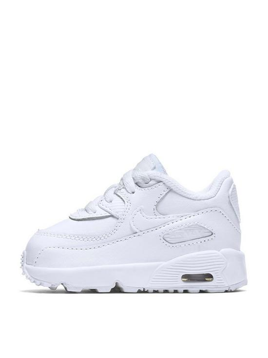 Nike Infant Air Max 90 Leather - White  1fb1b52f5869