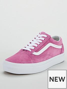 vans-suede-old-skoolnbsp--pinkwhite