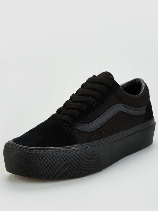 6eb625649a3e Vans Old Skool Platform - Black