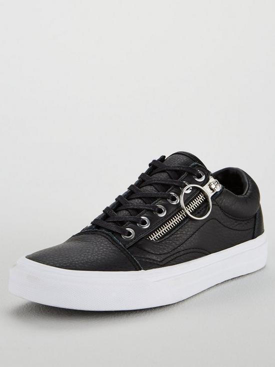738f88cc8b Vans Old Skool Zip - Black