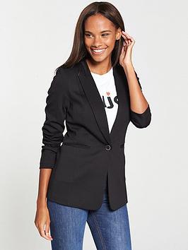 v-by-very-the-longline-ponte-jacket-blacknbsp