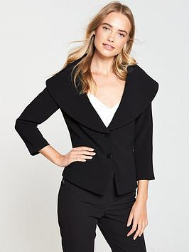 v-by-very-shawl-collar-jacket-black