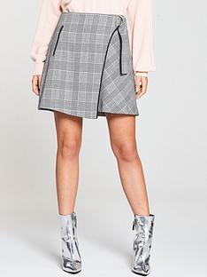 v-by-very-check-mini-skirt