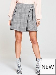 v-by-very-check-mini-skirt