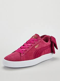 puma-suede-bow-trainer