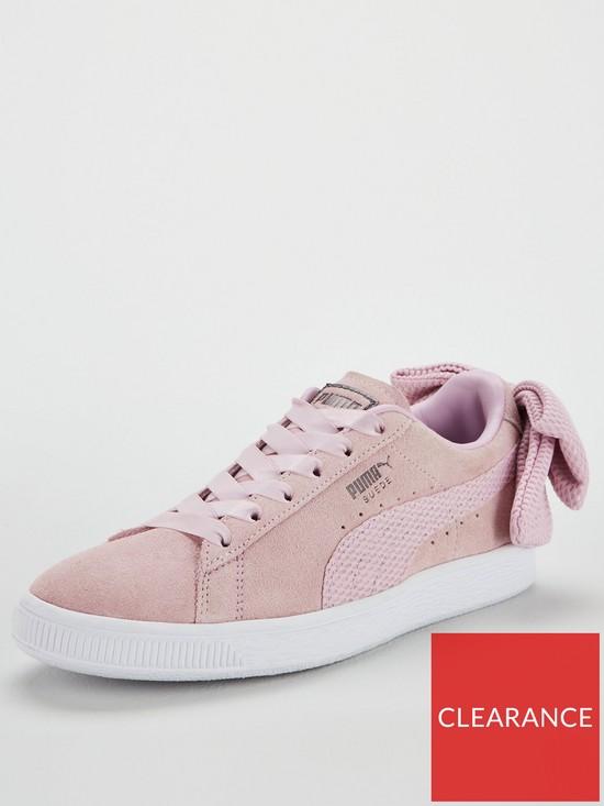 Puma Suede Bow Uprising - Pink  9c2b20110