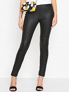 gestuz-loel-leather-leggings-black