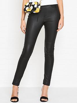 gestuz-loel-leather-leggings-black