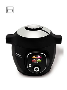 Tefal Cook4Me+ CY851840 Electric Pressure Cooker - 6L / Black
