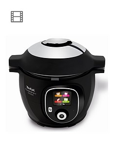 Tefal Cook4Me Plus Connect Multi-Cooker - Black