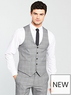 v-by-very-subtle-grey-check-waistcoat