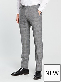v-by-very-subtle-grey-check-slim-trouser