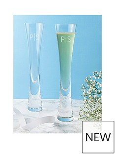 personalised-contemporary-champagne-flutes-set-of-2