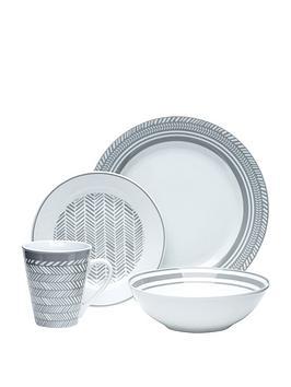 waterside-32-piece-herringbone-dinner-set