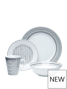 waterside-32pc-herringbone-grey-amp-white-dinner-set