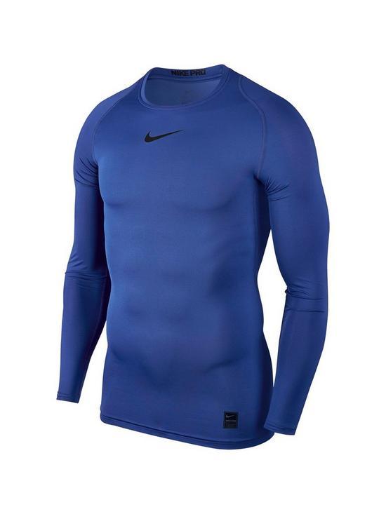 0ce24d4fb Nike Pro Long Sleeve Training Top | very.co.uk