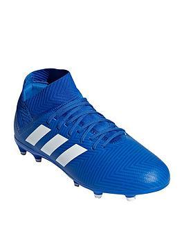 adidas-junior-nemeziz-183-firm-ground-football-boots-blue