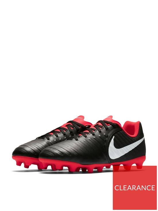 67a465088 Nike Junior Tiempo Legend Club Firm-Ground Football Boot - Black ...