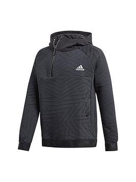 adidas-messi-youth-half-zip-hoodienbsp--black