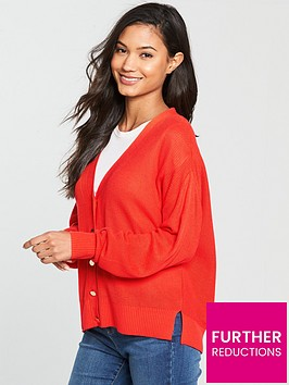 v-by-very-tie-back-cardigan-red-orangenbsp