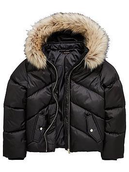 v-by-very-girls-short-black-padded-coat