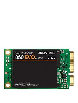 Samsung 860 Evo Msata Iii 6Gbp/S 64L V Nand 250Gb Ssd