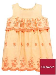 mini-v-by-very-girls-embroidered-dress-florescentnbsporange