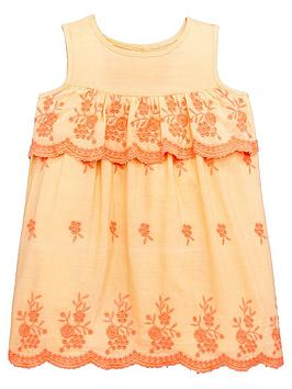 mini-v-by-very-girls-embroidered-dress-florescentnbsporange